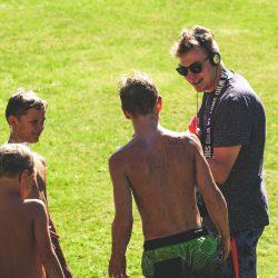 Den Kids hat es Spaß gemacht... dem Reporter wohl auch - wie zu hören war.