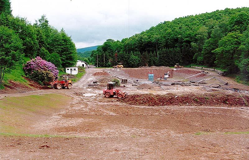 Umbau Eiserfelder Weiher - Naturfreibad Eiserfeld